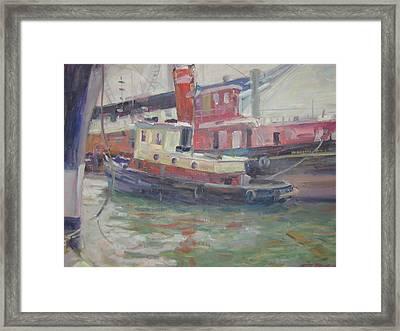 Tug Boat Framed Print