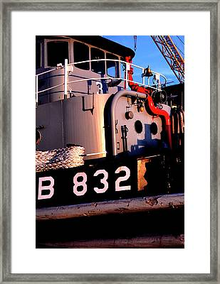 Tug Boat Framed Print by Thomas R Fletcher