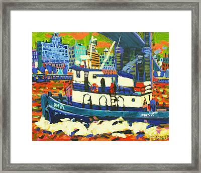 TUG Framed Print by Brian Simons