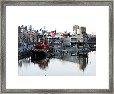 Tugboat 2 Framed Print