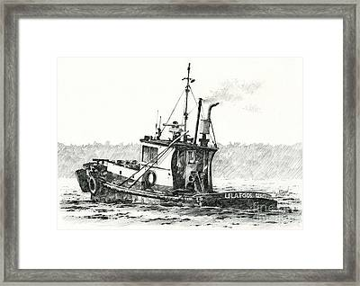 Tugboat Lela Foss Framed Print by James Williamson