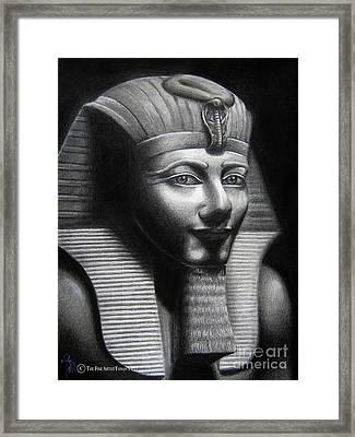 Tuhtmose Framed Print by Yonan Fayez