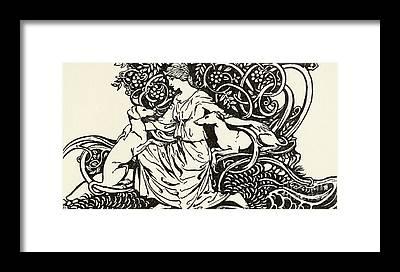 Folktale Framed Prints