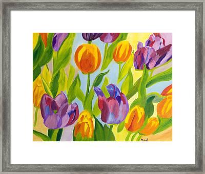 Tulip Fest Framed Print