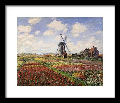 Claude Paintings Framed Prints