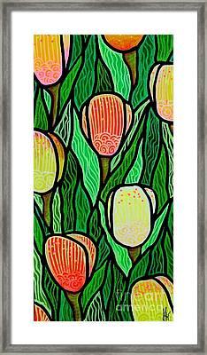 Tulip Joy 2 Framed Print by Jim Harris