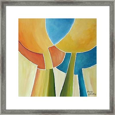 Tulip Moon Framed Print by Carola Ann-Margret Forsberg