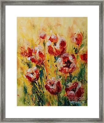 Tulip Waltz Framed Print
