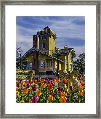 Tulips Af Hereford Light Framed Print