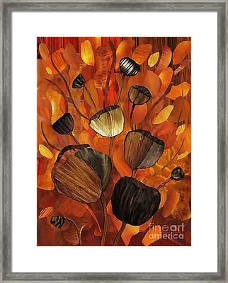 Tulips And Violins Framed Print