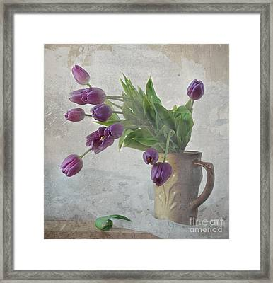Tulips Framed Print by Irina No