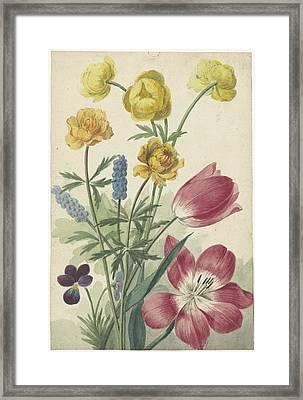 Tulips Framed Print by Willem van Lee