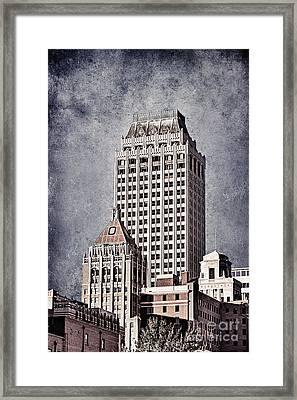 Tulsa Art Deco I Framed Print by Tamyra Ayles