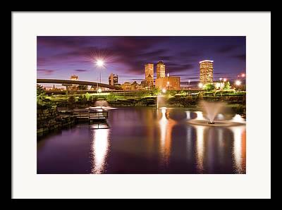 Tulsa Oklahoma. Architecture Framed Prints