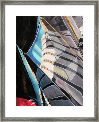 Tulsa Reflections 3 Framed Print by Kenny King