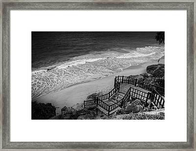 Tulum Beach Framed Print