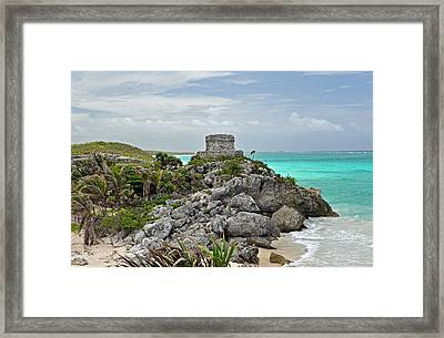 Tulum Mexico Framed Print by Glenn Gordon