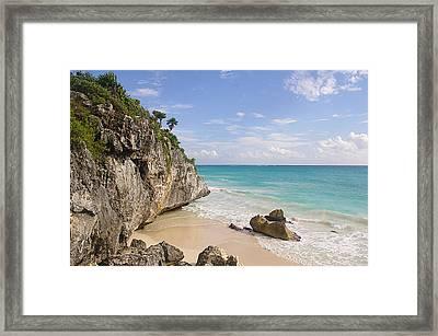 Tulum, Riviera Maya Framed Print by Fabian Jurado's Photography.