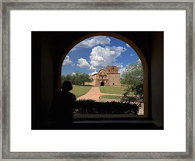 Tumacacori Mission Framed Print by Feva  Fotos