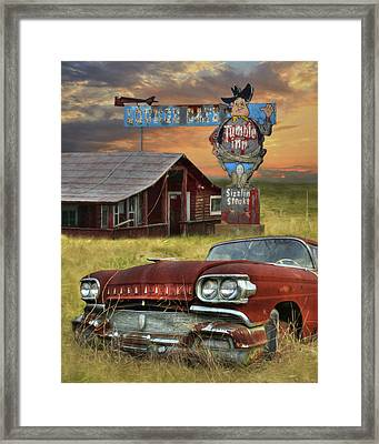 Framed Print featuring the photograph Tumble Inn by Lori Deiter