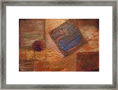 Tumbling 4 Ways Framed Print
