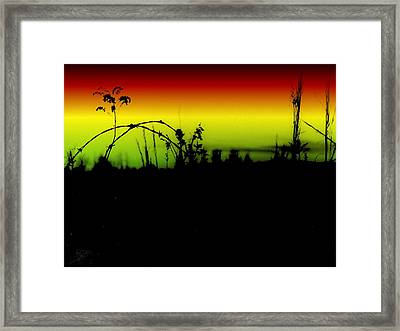Tumbling Down Framed Print