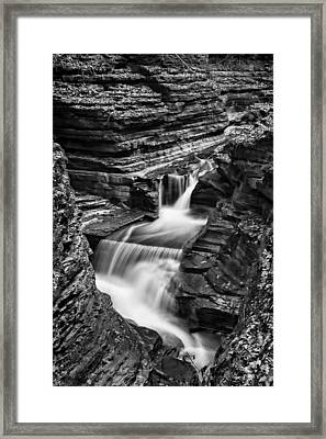 Tumbling Waters #2 Framed Print by Stephen Stookey