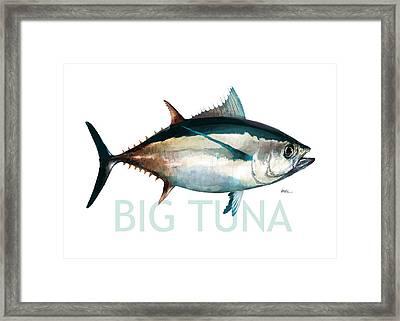 Tuna 001 Framed Print by Trevor Irvin