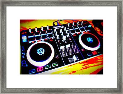 Tunes Framed Print