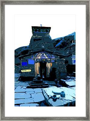 Tungnath2 Framed Print by Padamvir Singh