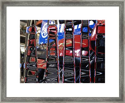 Tuning In Framed Print by James Granberry