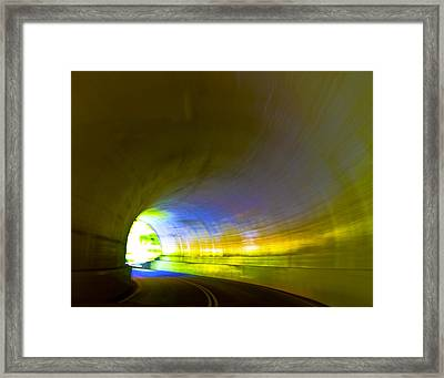 Tunnel #2 Framed Print by Terry Anderson
