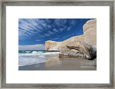 Tunnel Beach 1 Framed Print