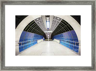 Tunnel Entrance Framed Print by Svetlana Sewell