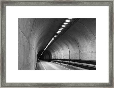Tunnel Framed Print by Eric Foltz