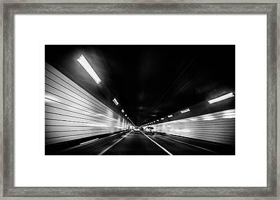 Tunnel Framed Print by Hyuntae Kim