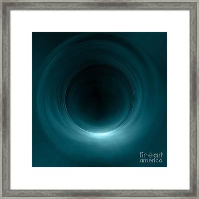 Tunnel Of Light Framed Print by Caio Caldas