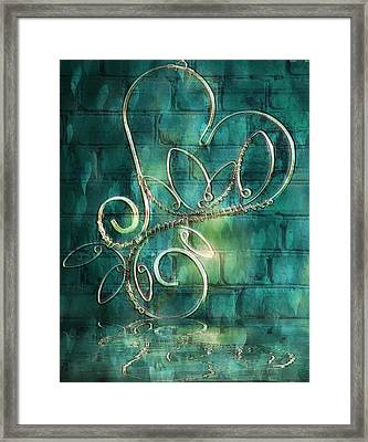Tunnel Of Love  Framed Print by ARTography by Pamela Smale Williams