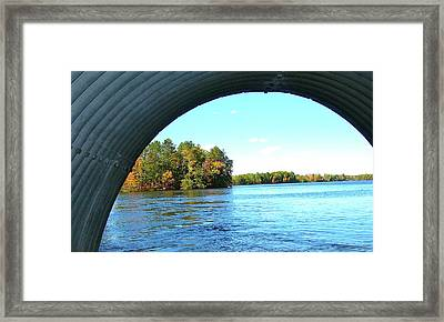 Framed Print featuring the photograph Tunnel Of Love by Randy Rosenberger