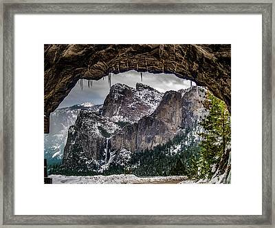 Tunnel View From The Tunnel Framed Print by Bill Gallagher