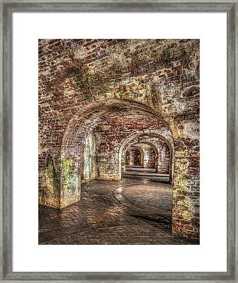 Tunnel Vision Framed Print by Andy Crawford