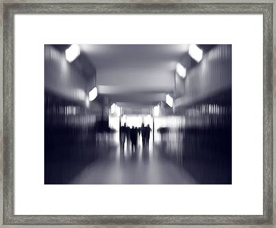 Tunnel Vision Framed Print by Artecco Fine Art Photography