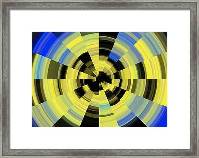 Tunnel Vision Framed Print by Debbie McIntyre