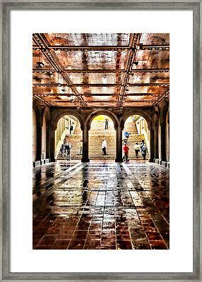 Tunnel Vision Framed Print by Diana Angstadt