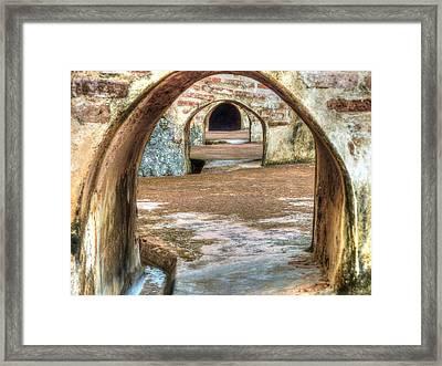 Tunnel Vision Framed Print by Michael Garyet