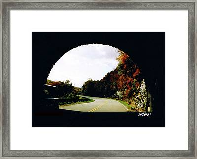 Framed Print featuring the photograph Tunnel Vision by Seth Weaver