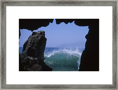 Tunnel Vision Framed Print by Soli Deo Gloria Wilderness And Wildlife Photography