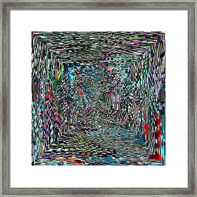 Tunnel Vision Framed Print by Tim Allen