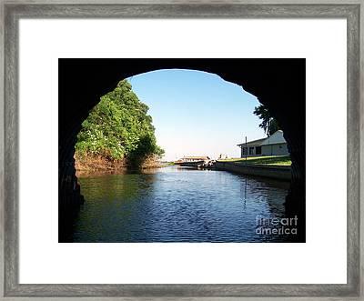 Tunnel Vison One Framed Print by Jack Norton