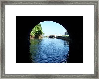 Tunnel Vison Two Framed Print by Jack Norton
